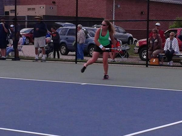 Senior Leah Walter led Jamestown to the Region I team championship, won the singles title and took the doubles crown with younger sister Anna.