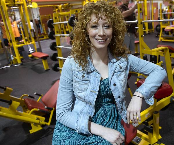 Megan Pustaver's participation in a recent episode of CBS' 'Undercover Boss' has changed her life. She is show at her workplace, Retro Fitness Gym in Palmer Township.