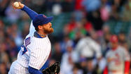 Travis Wood got the start for the Cubs on Monday. (Anthony Souffle/Tribune photo)