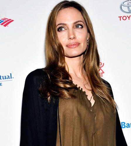 Angelina Jolie attends the Women in the World Summit 2013 on April 4, 2013 in New York.