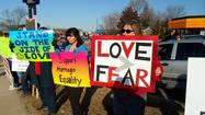 Growing Support Spurs Marriage Equality Vigil in Woodstock