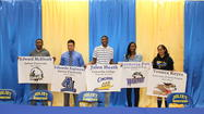 Eight Joliet Central High School student athletes were honored on May 10 at a special ceremony recognizing the intent to continue their athletic careers at the collegiate level.