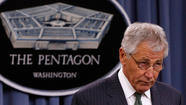 WASHINGTON (Reuters) - The Pentagon told its civilian workforce on Tuesday that it will put most of them on unpaid leave for one day a week starting in July, a deeply unpopular move that Defense Secretary Chuck Hagel blamed on sweeping budget cuts imposed by Congress.