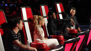 Adam Levine, Shakira, Usher and Blake Shelton on 'The Voice'