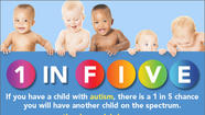 Kennedy Krieger Institute has announced a new program that will offer free autism screenings to infants between five and 10 months who have a sibling with autism.