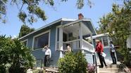 Home prices in the Southland surged last month and sales reached boom-era levels.