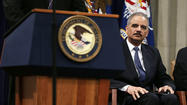 WASHINGTON — Attorney Gen. Eric H. Holder Jr. recused himself from the leak investigation in which federal prosecutors seized records from 20 telephone lines used by reporters and editors at the Associated Press, and the matter is instead being coordinated by the FBI and the local U.S. attorney's office in Washington, a top Justice Department official said.