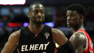 MIAMI – Heat coach Erik Spoelstra obviously has grown weary of the inquiries concerning Dwyane Wade's bruised right knee.