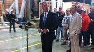 I saw it with my own eyes -- Maryland Gov. Martin O'Malley standing centerstage Tuesday in the Oval Office.