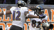 The impact of Torrey Smith and Jacoby Jones was obvious every time that one of the speedy outside wide receivers ran past flat-footed defenders and under a long, arching throw from Ravens quarterback Joe Flacco.