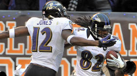 Drawn penalties a hidden impact of Ravens wide receivers Torrey Smith and Jacoby Jones