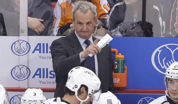 Kings Coach Darryl Sutter is known to like keeping everyone, including his players, off balance.