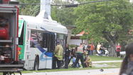 Questions linger after county bus crash in Lauderdale