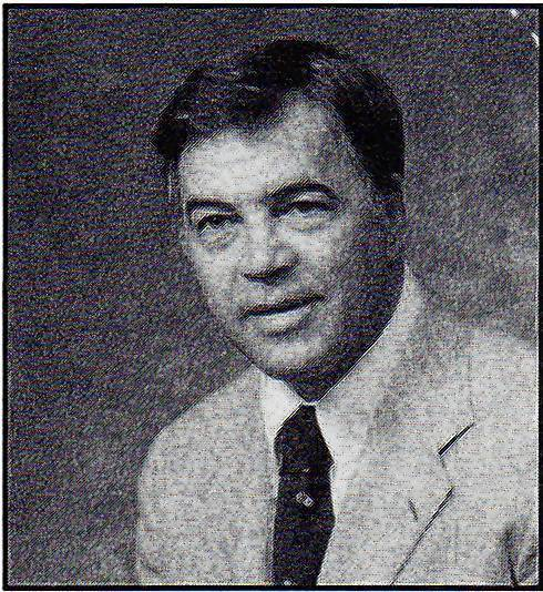Roderick Bickert, pictured in this scanned photo from a New Trier publication, was superintendent for the New Trier Township High School District during a period of rapid enrollment decline. Bickert died recently at age 85.