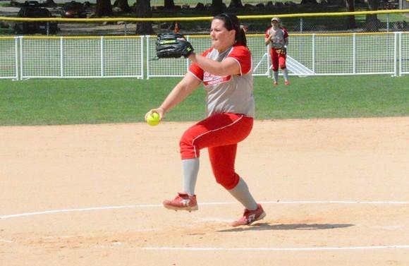 Megan Nonnemacher in action earlier this season.