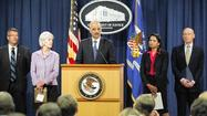 WASHINGTON (Reuters) - U.S. Attorney General Eric Holder said on Tuesday the Department of Justice had charged 89 defendants in eight cities with healthcare fraud, and warned that budget cuts could limit future efforts to crack down on fraudulent claims.