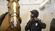 Baltimore police mounted unit [Video]