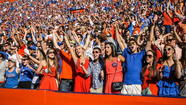 GAINESVILLE — UF's home football games against FSU and Tennessee are sold out, an early sign the buzz may be back for the Gators.
