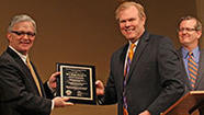 The Wheaton College Alumni Association recognized Dr. S. Douglas Birdsall as Alumnus of the Year for Distinguished Service to Society on Friday, May 10.
