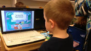 JAMES CITY — Preschoolers at one local school are getting pint-sized lessons in technology.