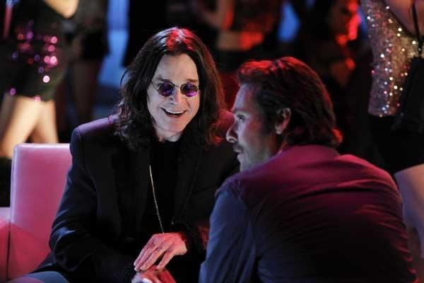 "Ozzy Osbourne, left, and James Callis guest star on ""CSI: Crime Scene Investigation."""