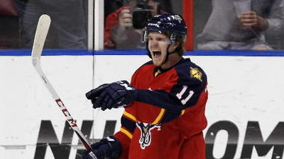 Panthers' Huberdeau undergoes successful hip surgery