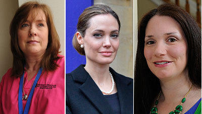 Angelina Jolie among growing number of women choosing mastectomy before cancer