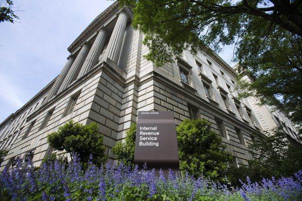 The Internal Revenue Service headquarters in downtown Washington.