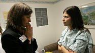 Anna and  Dr. Beth Karlan