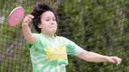 Anya Scharle stepped into the discus circle last Wednesday and let it fly three times.
