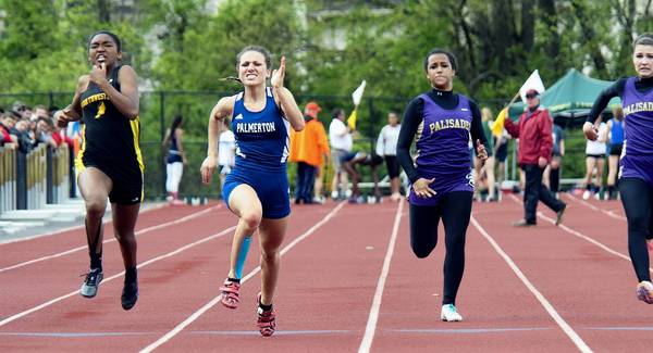 Jessica Pereira of Palmerton is the top seed in the District 11 Class 3A 200 and 400. She is the second seed in the 100.