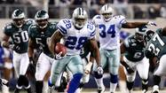 — One Philadelphia Eagles running back unpacked his baggage on Tuesday. Another kept adding to his collection.