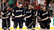 After the scoreboard bulbs showing a playoff-eliminating loss were turned off at Honda Center on Sunday, more came to light Tuesday as Ducks players were processed through exit interviews.