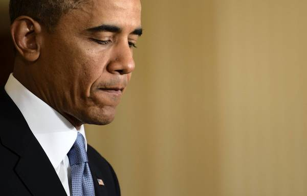 President Barack Obama speaks Monday at a White House news conference. His administration faces pressure on Benghazi, the IRS scandal and the subpoena of journalists' phone records.