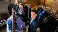 As Richard Hall and McGregor Madden traveled the country fitting clients with their high-end, custom-made suits, they noticed something strange — professional men yearning to look stylish nevertheless sported dress shirts with stains.