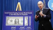 SACRAMENTO — California may finally be free of deficits, but Gov. Jerry Brown unveiled a cautious budget Tuesday, saying the state's financial condition remains treacherously unstable.