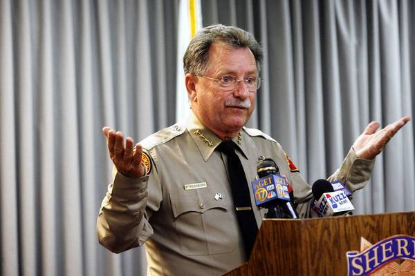 "Kern County Sheriff Donny Youngblood says: ""Our credibility is at stake here,"" in asking the FBI to enter the investigation."
