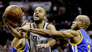 San Antonio gives Golden State guards no shot in 109-91 Game 5 win