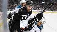 Kings, Jeff Carter, Sharks, Scott Gomez