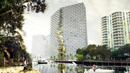 — Proponents of the Marina Lofts high-rise apartment complex planned for the New River see it as just the architectural shot-in-the-arm the city's vanilla-looking downtown needs.