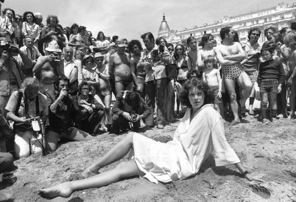 Sylvia Kristel at Cannes