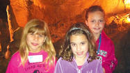 On May 4 and 5, Erika Escalante, Rachel Hebb and Kate Whaley, members of Girl Scout Troop 40790, visited Lincoln Caverns in Huntingdon, Pa., and participated in a two-day workshop to earn their WOW! (Wonders of Water) Journey award.