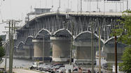 VDOT crews will be installing traffic sensors at the Coleman Bridge Wednesday and Thursday.