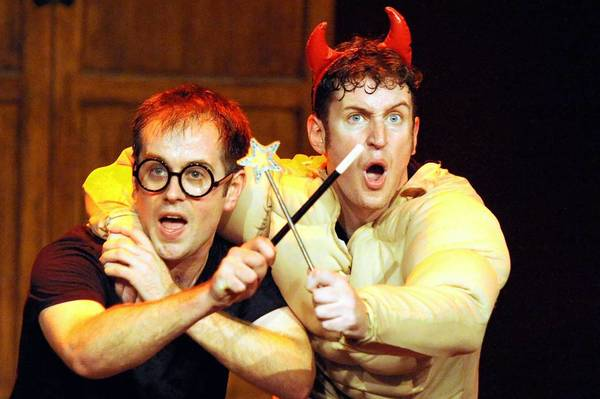 "'Potted Potter,' written and performed by former BBC Television, takes on the ultimate challenge of condensing, or ""potting"", all seven Harry Potter books into 70 madcap minutes."