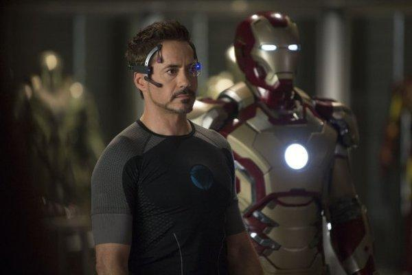 "Robert Downey Jr. stars in ""Iron Man 3,"" which is about to cross the $1-billion milestone at the box office."