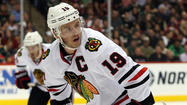 Chicago Blackhawks captain Jonathan Toews may not have been recognized as a candidate for the league's most valuable player, but he did earn recognition as one of the league's top defensive fowards when he was named a finalist for the 2012-13 Frank J. Selke Trophy on Wednesday.