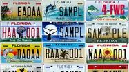 Pictures: Florida specialty license plates