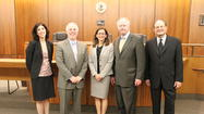 The Illinois Supreme Court Commission on Access to Justice held a listening conference at the Northern Illinois University College of Law on Wednesday May 1, 2013.  The event featured distinguished guests Chief Justice Thomas L. Kilbride and Justice Robert R. Thomas of the Illinois Supreme Court.  Focused on improving access to justice, the Commission is actively engaged in conversations across the state of Illinois to hear about problems confronting the poor and vulnerable as well as possible solutions.