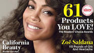 "<a href=""http://people.zap2it.com/p/zoe-saldana/194024"">Zoe Saldana</a> is gracing the cover of the June issue of Allure, where inside she poses nude and <a href=""http://blog.zap2it.com/pop2it/2013/05/zoe-saldana-poses-nude-says-shes-open-to-being-with-a-woman.html"">talks about how androgynous</a> she is. But what is overshadowing the interview is what Allure chose to put on the cover."