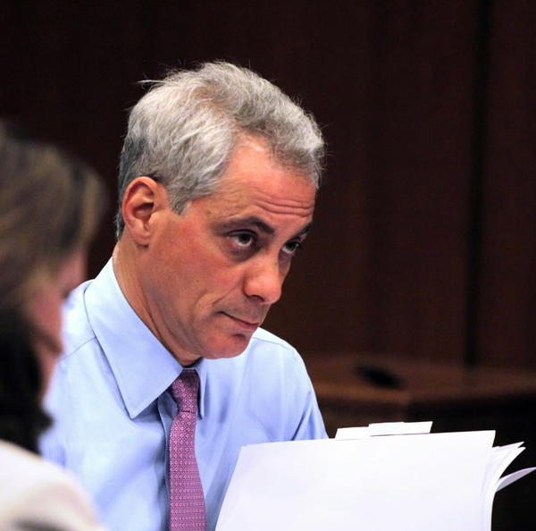 Chicago's Public Building Commission, chaired by Mayor Rahm Emanuel, meets on Tuesday to vote on millions of dollars in school renovations, among other issues.